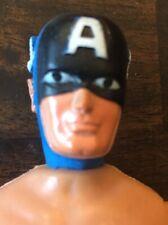"Vintage 1973 Mego Captain America 8"" Action Figure NUDE"