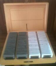 Wooden Index box for glass slides - Holds 100 glass slides