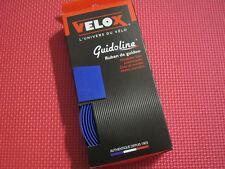 VELOX Guidoline Bike Cycle Maxi Cork Handlebar Tape BLUE 3mm Handle Bar Taping