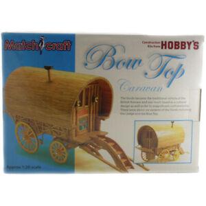 Hobby's Match-craft Bow Top Caravan Matchstick Model Kit