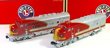Lionel 6-14536 Santa Fe AA Diesel Locomotives Excellent  LN/Box
