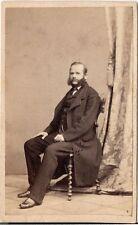 Gebr. Winter CDV photo Feiner Herr - Prag 1860er
