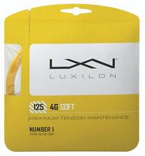 LUXILON 4G Soft 125 tennis string set - Gold - tennis racquet racket string