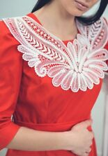 Lace collar, Yelets lace, handmade