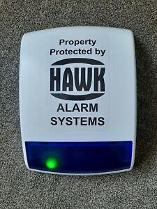 Dummy House Alarm Box Green Flashing LEDs - Fake House Alarm Box 2 Flashing LEDs