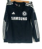 Chelsea Football Club Adidas Boys Jersey Size UK 1-12 Y US M Climacool Black