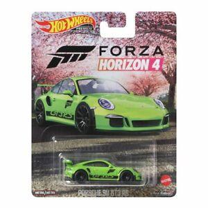 Hot Wheels Replica Entertainment 2021 Forza Horizon 4 Porsche 911 GT3 RS Green