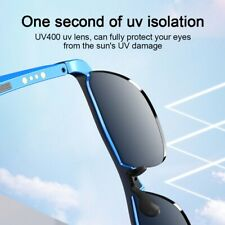 More details for lenovo smart glasses wireless bluetooth music headset audio hands-free calling