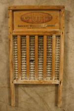Antique Grocers Wholesale Company Des Moines Iowa Wash board
