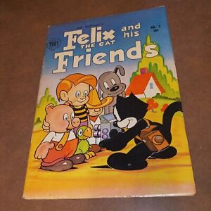 Felix The Cat And His Friends #2 1954 golden age precode cartoon harvey mesmer