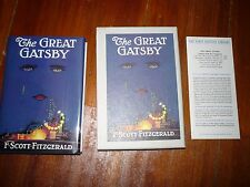 The Great Gatsby F. Scott Fitzgerald First Edition Library