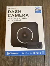 Cobra Ccdc4500 Drive Hd Dual View Dash Camera System 1080p Front 720 Rear iRadar