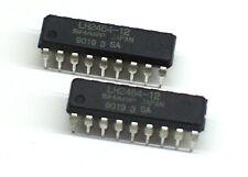 2x lh2464-12 DRAM memoria 120ns Sharp Memory Commodore c64 G C II (z0g274)