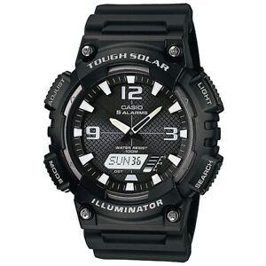 Casio Uhr AQ-S810W-1A Armbanduhr Analog Digital Herren Schwarz Solar NEU & OVP