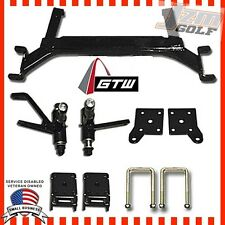 "5"" EZGO TXT Golf Cart Drop Axle GTW Lift Kit Gas and Electric 2001.5-Up"