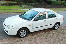 2000 MAZDA 323 PROTEGE SHADES - 1.6L 5 SPEED MANUAL - CLEAN FULL HISTORY ALLOYS