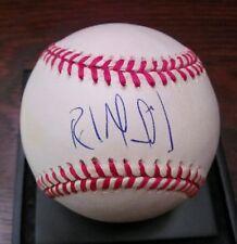 RAUL MONDESI Autograph Baseball ~ MLB National League Ball ~ Dodgers Yankees