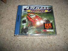 4 WHEEL THUNDER - Sega Dreamcast (PAL)  Rare New & Sealed - European Version