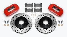 Wilwood Forjado De Pinza De Freno Discos Almohadillas de actualización Rojo-Cívico Crx Vti 262mm EG EK