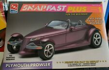 amt ertl 1/25 snap fast + plymouth prowler 100% built