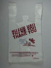 Thank You T Shirt Bags 115 X 625 X 21 Clear Plastic Retail Shopping