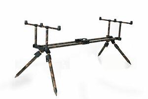 """Fox Horizon Duo Camo Rod Pod Inc 2 x 36"""" Long Legs"""