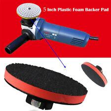 "5"" Backing Plate Hook & Loop Backing Pad Polishing Buffing Plate Female Thread"