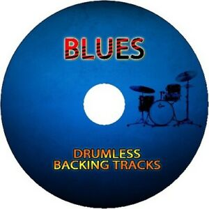 BLUES DRUMLESS BACKING TRACKS CD FOR DRUMMERS DRUMS PLAY ALONG JAM PRACTICE