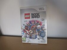 LEGO Rockband Music Game for Nintendo Wii  NEW SEALED - PAL VERSION