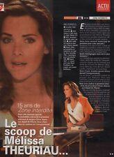 Coupure de presse Clipping 2008 Mélissa Theuriau  (2 pages)