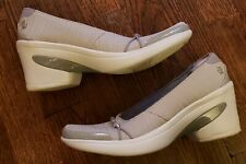 Bzees 6.5 Gray Pumps Electric Washable Knit Comfort Light Weight 901263