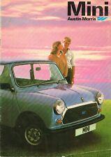 Austin Morris Mini UK Market Brochure Circa 1979-1980 Includes City HL HL Estate