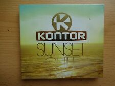 CD Kontor Sunset Chill 2011 Box mit 3 CDs Electro Chillout House Mix