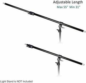 Adjustable Light Boom Stand Boom Arm Bar for Softbox Soft box Photo Video Studio