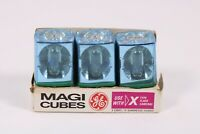 Vintage Set 3 General Electric GE Camera Flash Cubes NOS