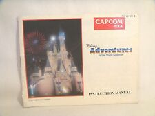 Adventures in the Magic Kingdom - NES Manual Only!