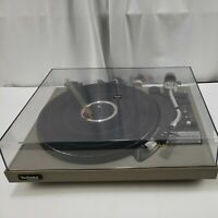Vintage Technics SL-23 Turntable Tested