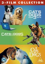 Cats & Dogs 3 Film Collection - DVD Region 2