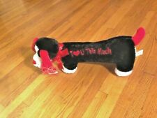 "Nwt ""I Love You This Much� Plush Valentine Dog So Cute!"