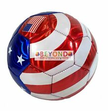 American Flag Soccer Ball All Weather Sporting Goods U.S Official Size 5