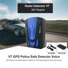 Car 16 Band V7 360 Degree GPS Speed Safe Anti Radar Laser Detector Voice Alert.