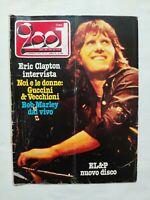 CIAO 2001 N. 1-2 - 1979 VEDI SOMMARIO ERIC CLAPTON BOB MARLEY GUCCINI VECCHIONI