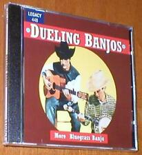 Dueling Banjos - More Bluegrass Banjo - Brand-New CD with 17 Tracks