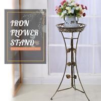 Metal Plant Stand Garden Decor Flower Pot Shelf Outdoor Indoor Wedding Display