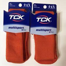 Tck Kneehigh Tube Socks Multi Sport Orange Sz Small Set Of 2