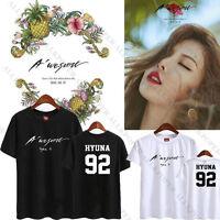 KPOP 4 Minute HYUNA 5th Mini Awesome Tshirt T-shirt Unisex Tee Cotton 4MINUTE