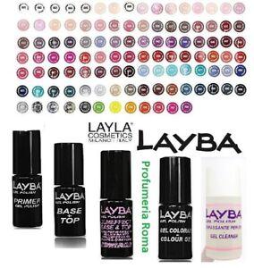 LAYBA by LAYLA GEL POLISH Smalto Semipermanente Removibile UV SOAK OFF - SCEGLI
