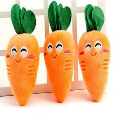 Vegetal Zanahoria Sonido Juguete Masticar Juguetes Perro Mascota Juego