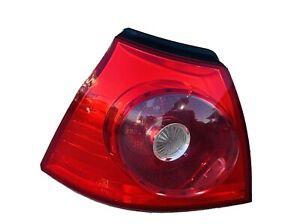 VOLKSWAGEN RABBIT OEM DRIVER LEFT OUTER TAIL LIGHT LAMP LH 2006 2007 2008 2009