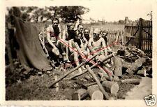 17832/ Originalfoto 9x6cm, nackte Soldaten, naked soldiers, Vintage Gay, WWII